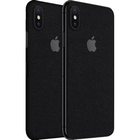 iphone xs skins matte black exacoat