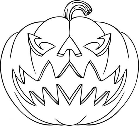 47 Pumpkin Carving Jack O Lantern Face Ideas 2017 Free O Lantern Coloring Pages