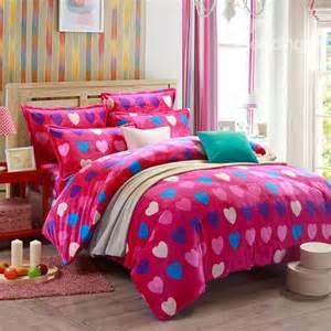 pink flannel duvet cover pink shape pattern flannel 4 duvet cover sets