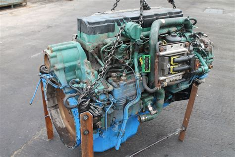 volvo de engine complete  engine  sale fj exports limited