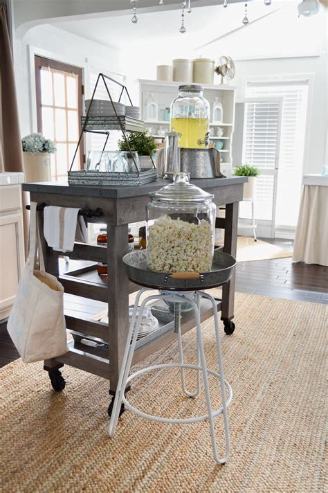 modern kitchen island cart farmhouse kitchen island cart
