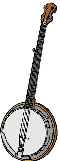 banjo clip muziek cliparts banjo 187 animaatjes nl