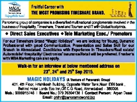 Mba Tourism Vacancies by For Mba Tourism Freshers Dizijobs