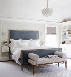 blue and grey bedroom redirecting