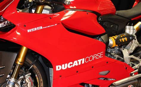 Ducati Corse Sticker Set by Ducati Corse Sticker Set Satu Sticker