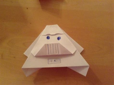 Origami Yoda Darth Paper - my darth paper origami yoda
