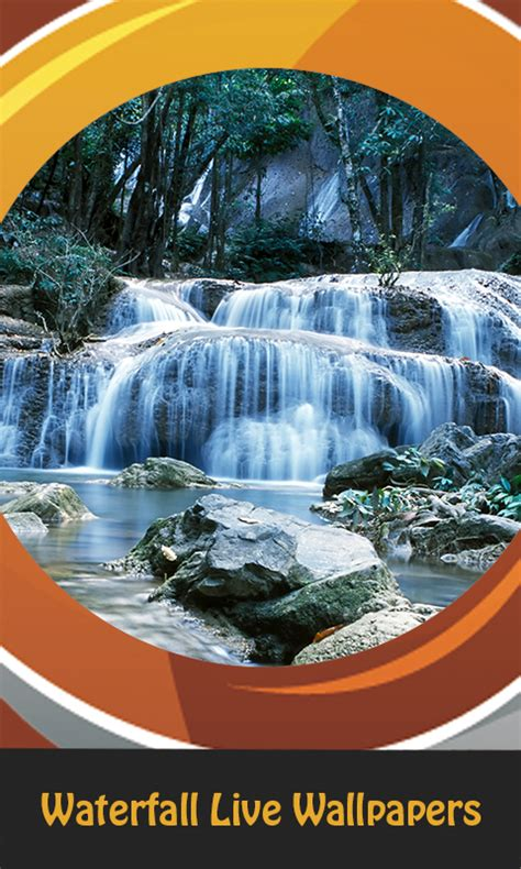 waterfall  wallpapers android app  apk