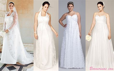 Wedding Dresses for Your Body Type: Apple Shapes & Plus