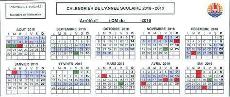 Calendrier Scolaire 2018 19 Wallpaper Calendrier Scolaire 2018 2019 Avec Vacances