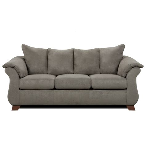 affordable loveseats affordable furniture 6700 three seat queen size sleeper