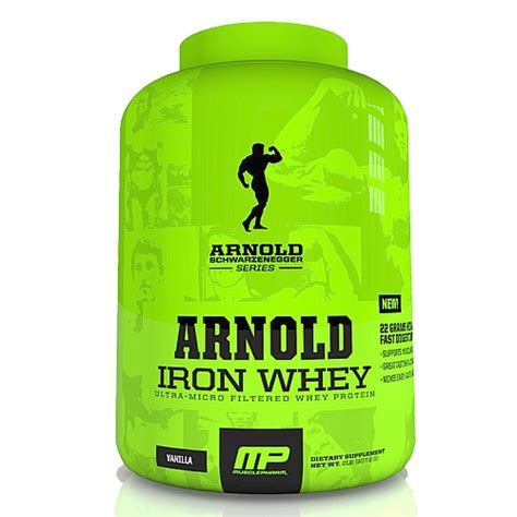 Arnold Whey Arnold Iron Whey 2 2kg Cardiff Sports Nutrition