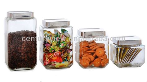 big glass tritan food container with steel lids buy
