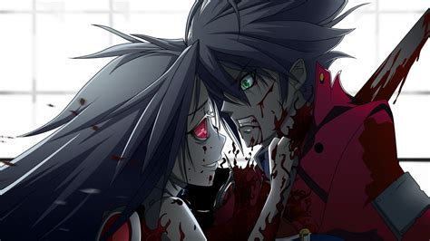wallpaper girl killing boy welcher anime ist das auf dem bild wenn es 252 berhaupt