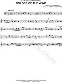 colors of the wind violin sheet williams quot colors of the wind quot sheet violin