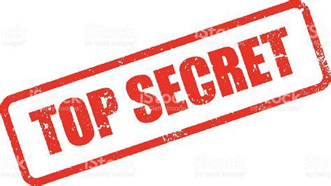 secret pictures top secret rubber st ink imprint icon stock vector