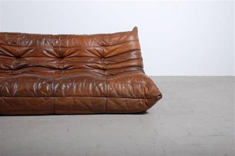canap 233 togo cuir michel ducaroy ligne roset boutique