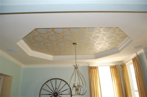 Dining Room Tray Ceiling Ideas Furniture Ceiling Designs Add Character To New Homes