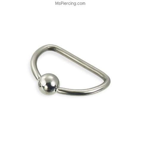 how to put on a captive bead ring d ring 16 ga at mspiercing