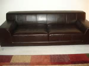 mega moving sale kramfors leather sofa for sale