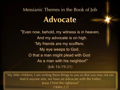 major themes book of job prayer and bible expo messianic themes in the book of job