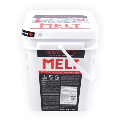 snow joe melt 25 lb calcium chloride pellets melter