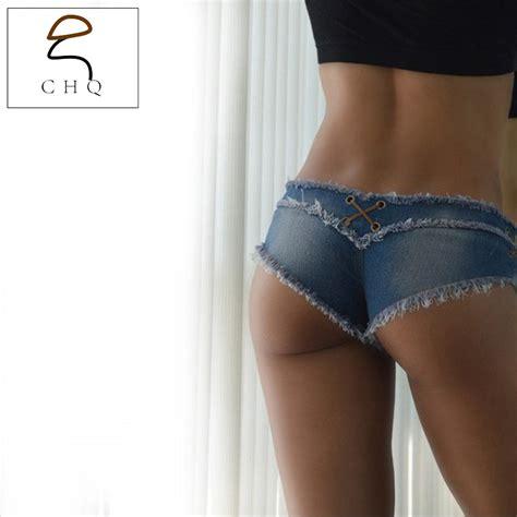 Celana Pendek Ripped Cutoff Blue aliexpress buy s denim shorts trousers
