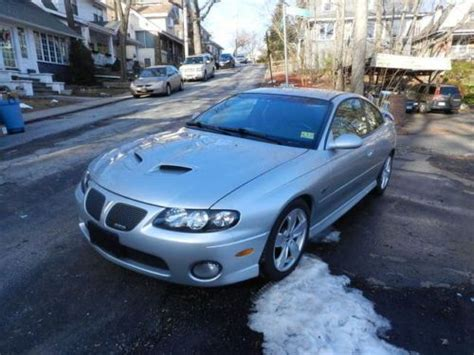 what was the last year for pontiac buy used pontiac gto coupe 6 0 last year collectable 27k 6