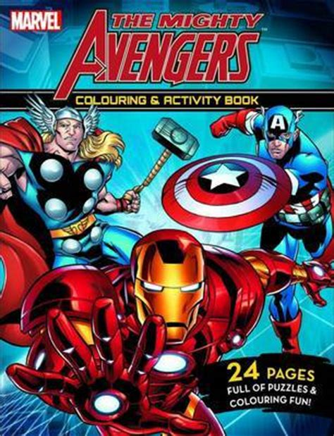 mighty avengers coloring pages mighty avengers colouring and activity book buy now