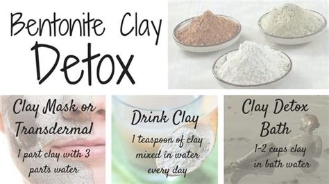 Bentonize Clay Detox by Bentonite Clay Detox 84562 Mediabin