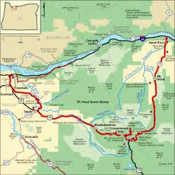 mt oregon map mt scenic byway map america s byways