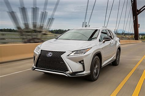 lexus crossover 2016 2016 lexus rx review racy styling and practicality rolled