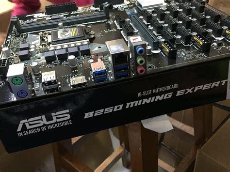 jual asus  mining expert  slot motherboard  lapak