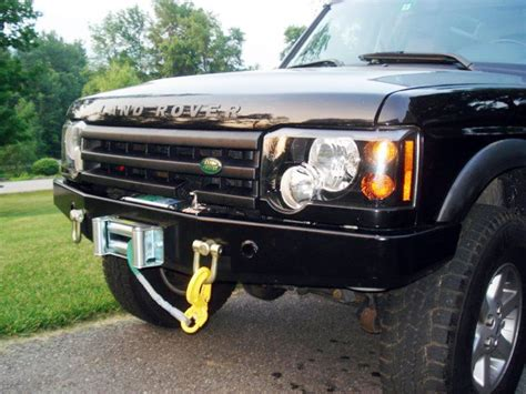 old land rover discovery winch bumper terrafirma discovery ii tf009a disco 2