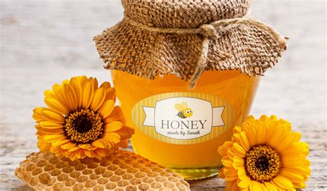 Make Your Own Wall Stickers custom honey labels and jar labels stickeryou products