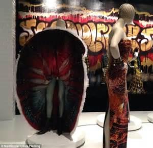 Jumpsuit Dress Motif 6191 10 madonna s cone bras feature in captivating jean paul