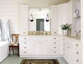Inch Double Sink Bathroom Vanities - subway tiled floor cottage bathroom lauren liess interiors
