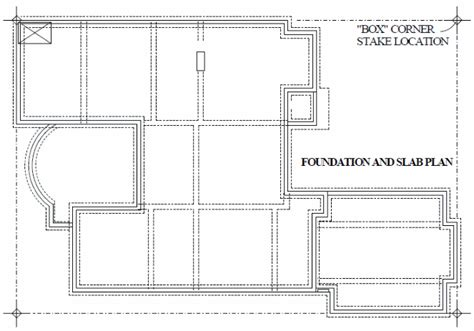Layout Plan For Foundation | foundation layout