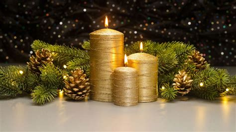 decoracion de navidad velas velas de navidad portavelas