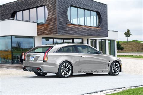 Cadillac Wagon 2017 by 2017 Cadillac Cts V Three Door Wagon Rendered Gm Authority