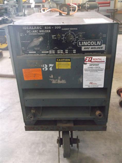 lincoln 300 welder lincoln r3r 300 idealarc dc arc welder daves industrial