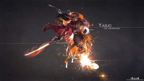 highnoon yasuo lolwallpapers