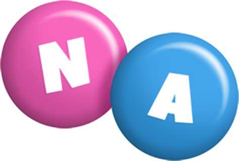 na logo name logo generator candy pastel lager