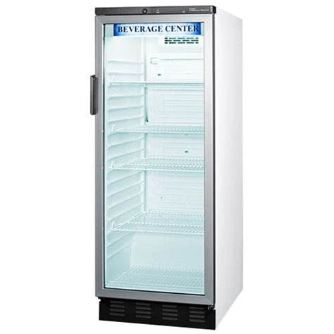 Summit Glass Door Refrigerator Summit Glass Door 11 Cu Ft Commercial Refrigerator Model