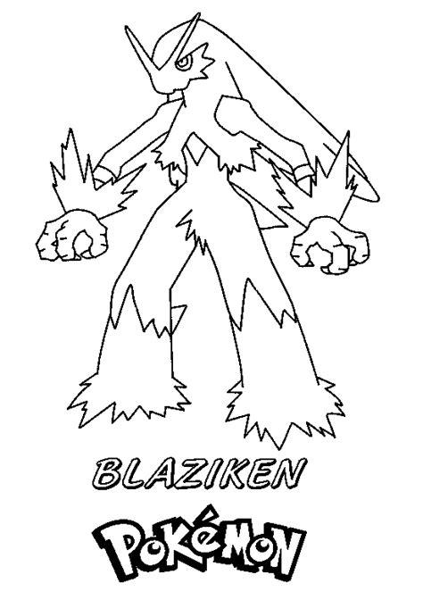pokemon coloring pages mega blaziken pokemon blaziken coloring pages images pokemon images