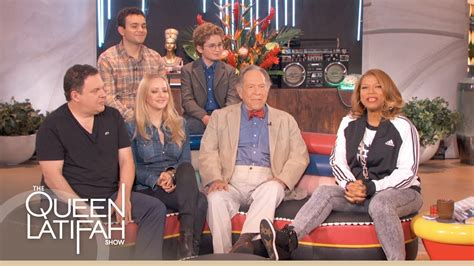 goldbergs tv show cast the goldbergs cast on the queen latifah show youtube