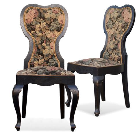 stuhl jugendstil antike st 252 hle jugendstil sessel schwarz hochlehnstuhl