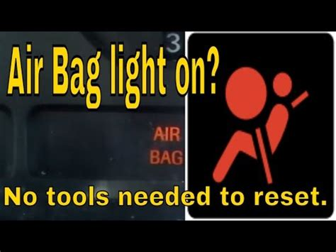 airbag deployment 1993 ford taurus on board diagnostic system how to reset ford mustang airbag light youtube