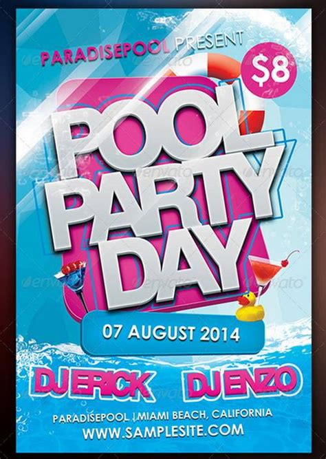 free pool flyer templates 8 best images of free printable pool flyers free printable pool invitations