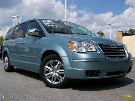 Chrysler Blue by 2008 Clearwater Blue Pearlcoat Chrysler Town Country