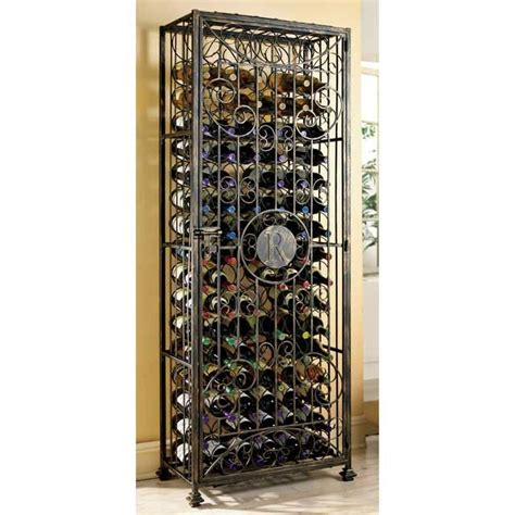 Wrought Iron Wine Racks by Personalized Wrought Iron Wine Rack Home Sweet Home